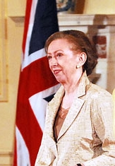 Margaret Beckett le 11 juillet 2006 à Washington