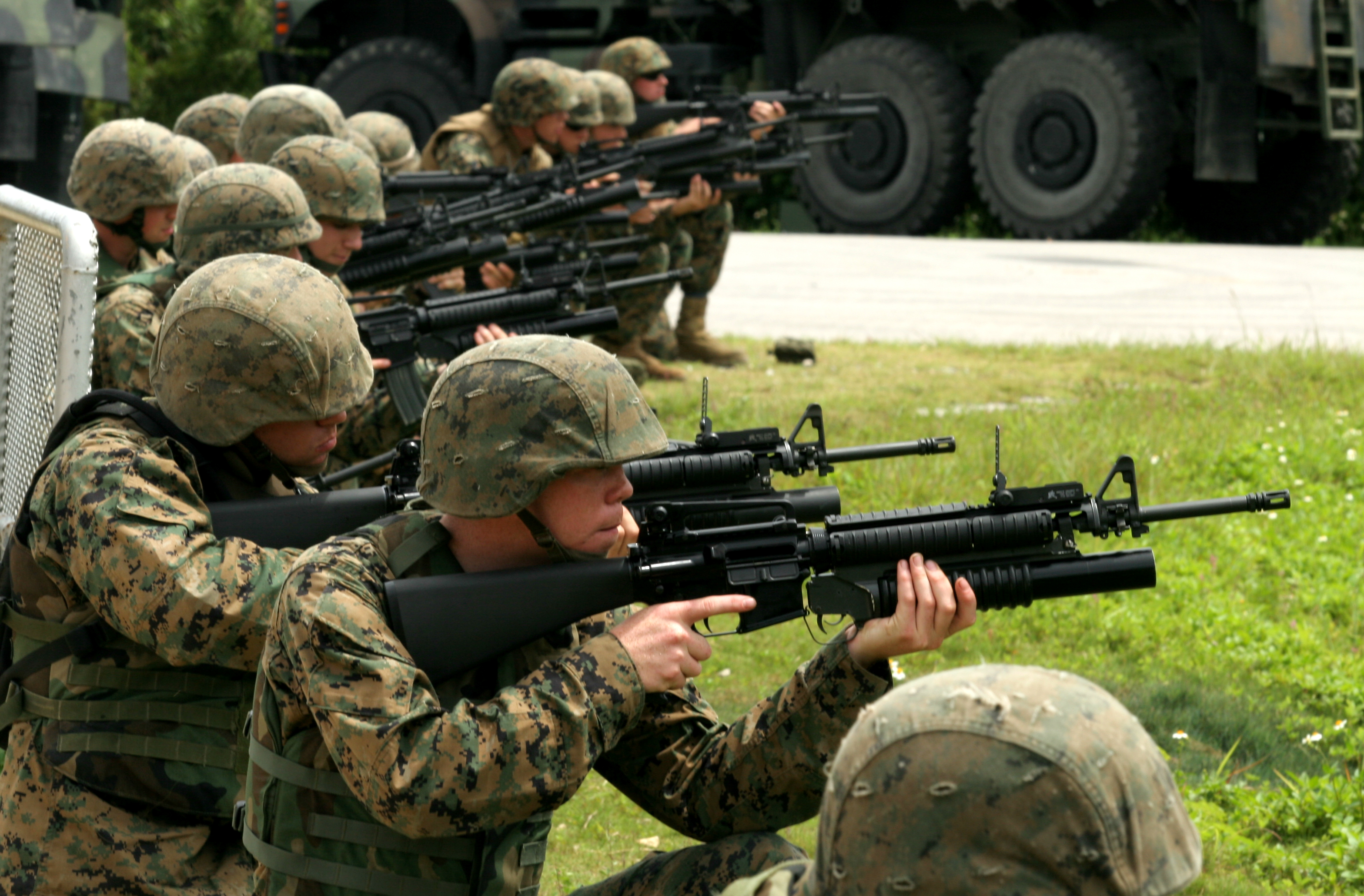 File:Marines M203 Training.JPG - Wikimedia Commons