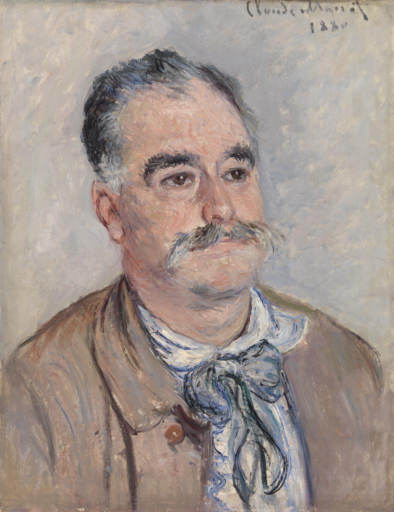 Archivo:Monet - Monsieur Coqueret (Father), 1880.jpg - Wikipedia, la  enciclopedia libre