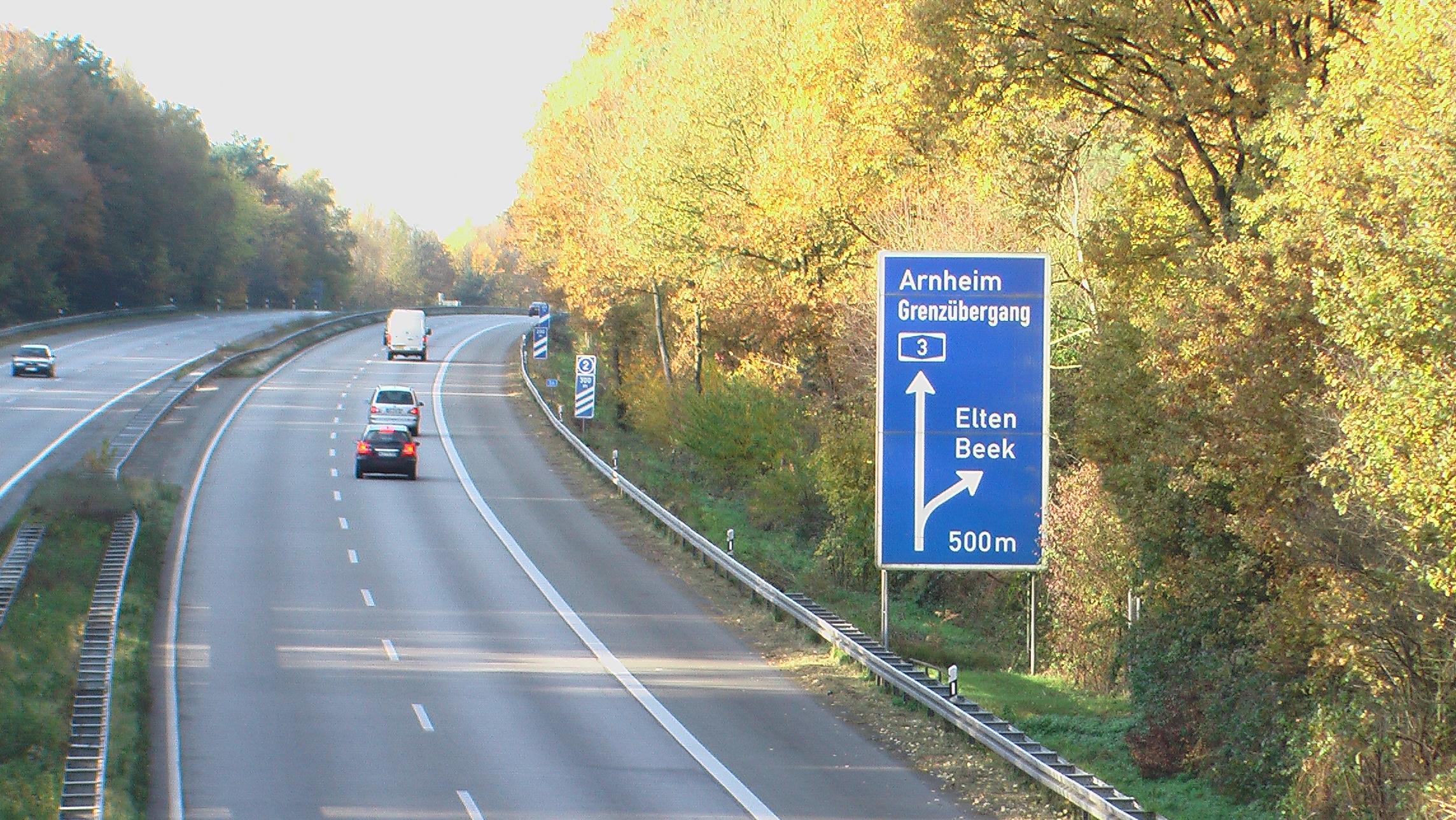 Bundesautobahn 3 Reiseführer Auf Wikivoyage