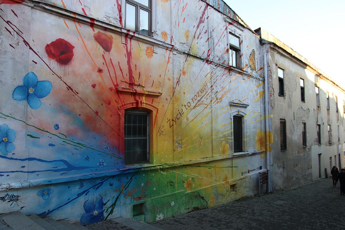 File Mural Tarnow Wielkie Schody Fot 02 Jpg Wikimedia Commons