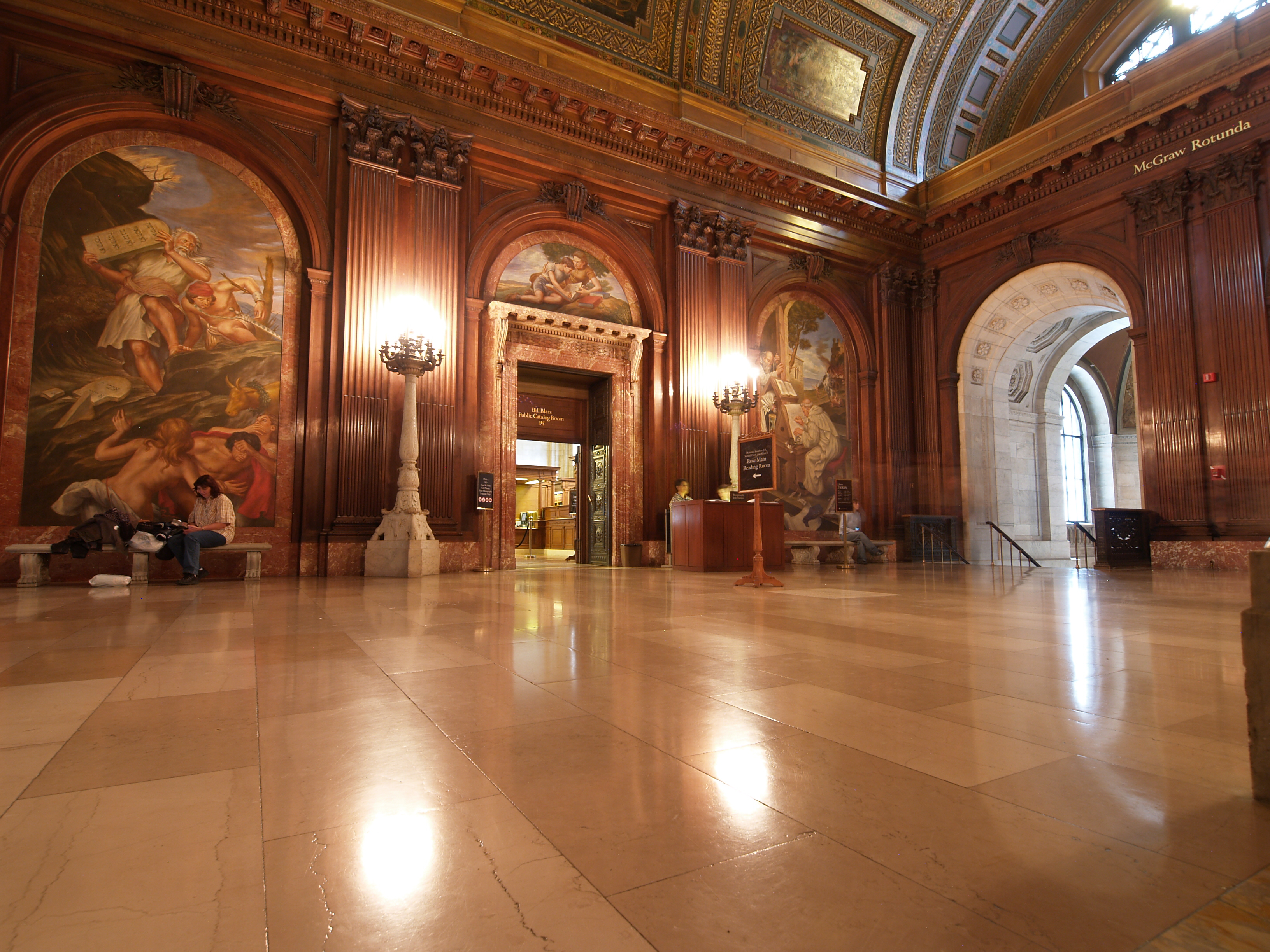 Image result for New York Public Library floor