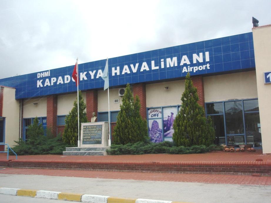 فرودگاه نوشهر کاپادوکیه