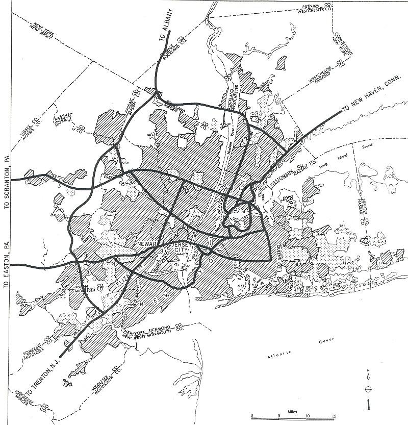 FileNew York New York Yellow Bookjpg Wikimedia Commons - Original map of us interstae system 1955