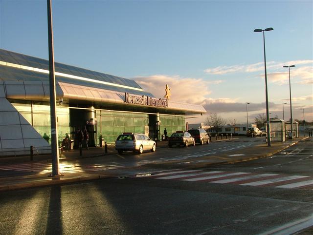 Depiction of Aeropuerto de Newcastle upon Tyne