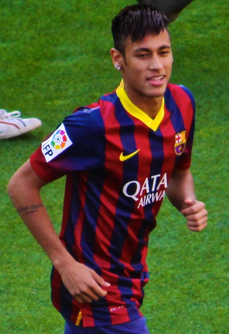 File Neymar FCBarcelona JPG Wikimedia mons
