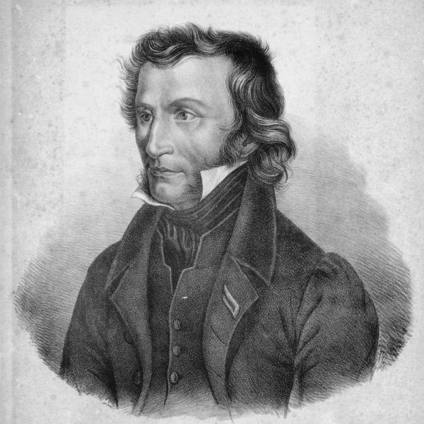 Niccolò Paganini, Cenova, İtalya