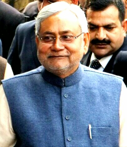 English: Nitish Kumar