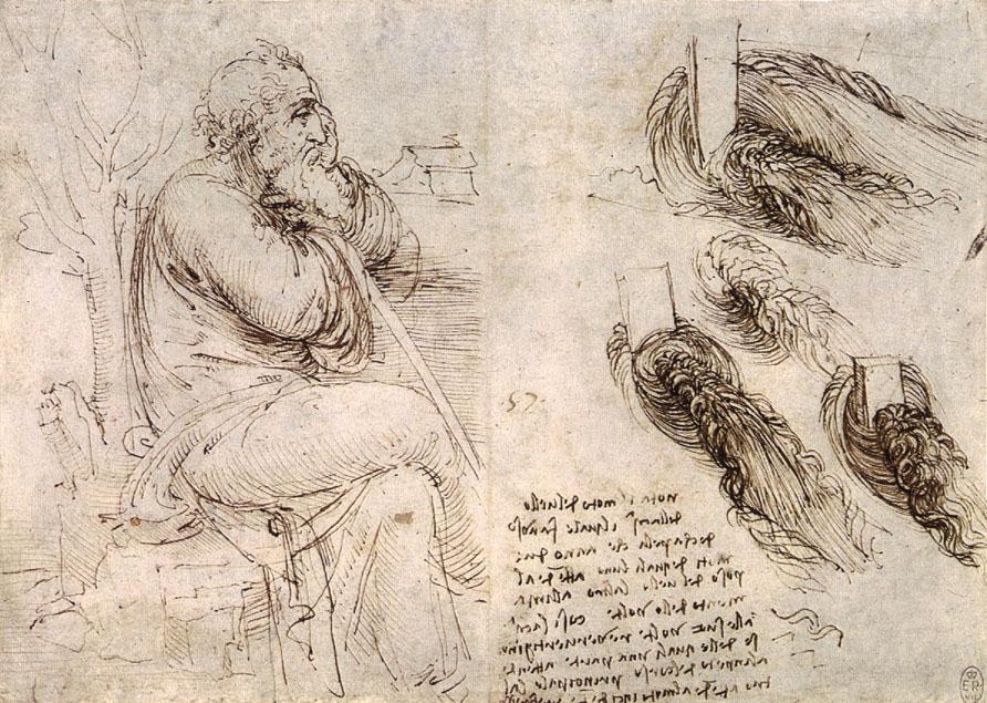 ファイル old man with water studies jpg wikipedia