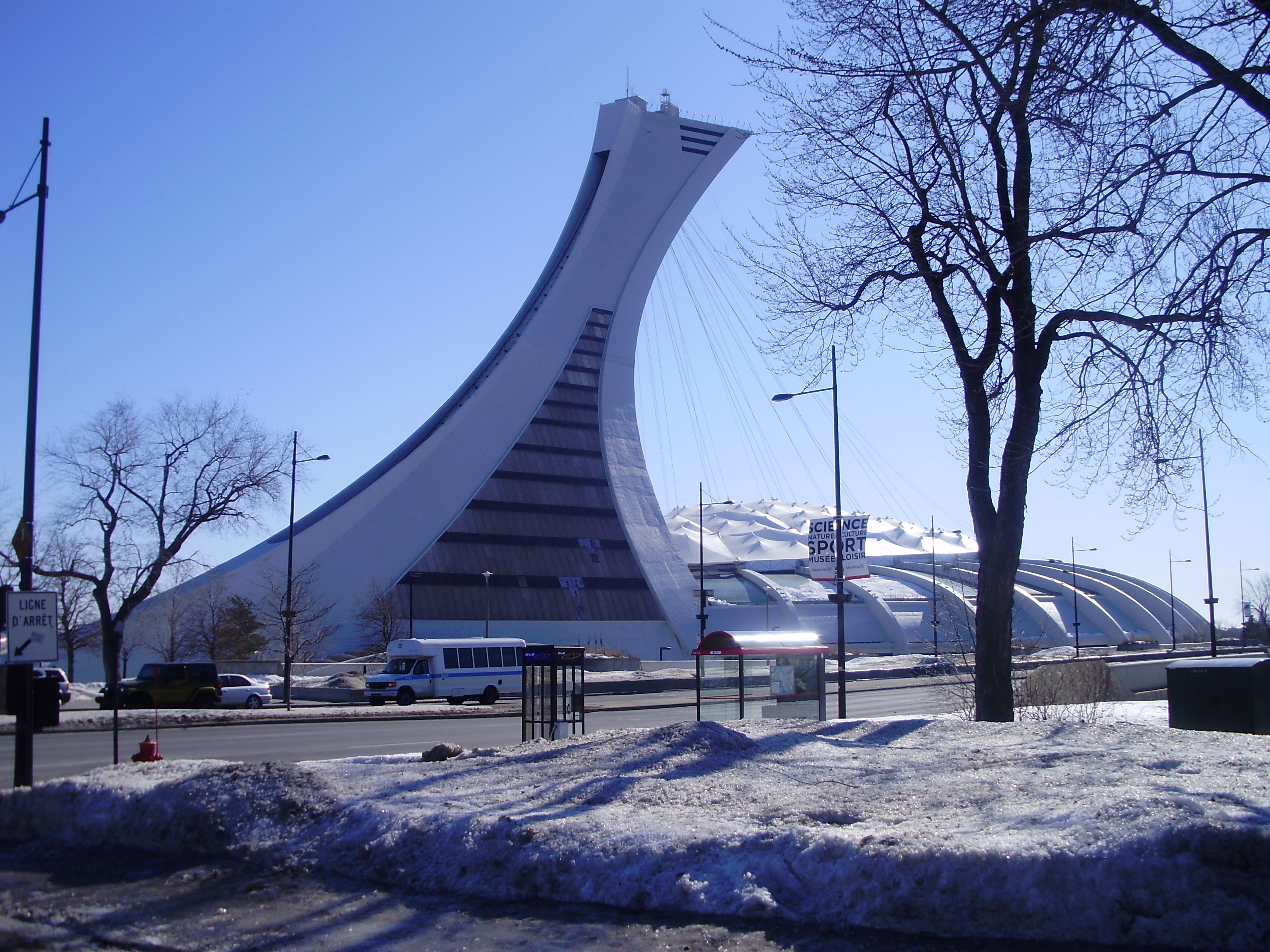 Olympic Stadium in Montreal History File Olympic Stadium Montreal