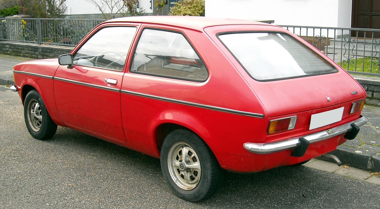 File Opel Kadett C City Rear 20081127 Jpg Wikimedia Commons
