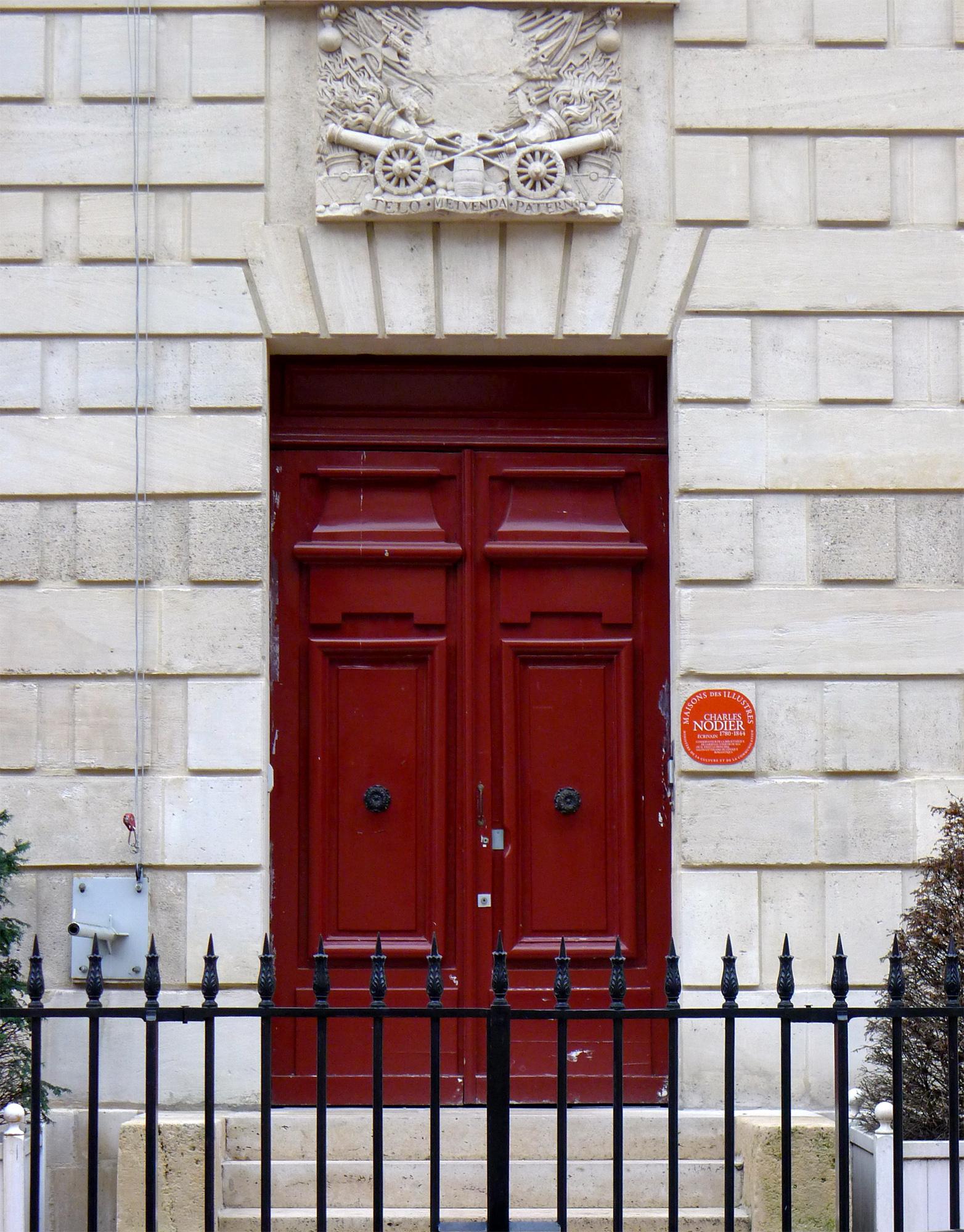 FileP Paris IV Rue De Sully Porte Bibliothèque Arsenal Rwk - Porte bibliothèque