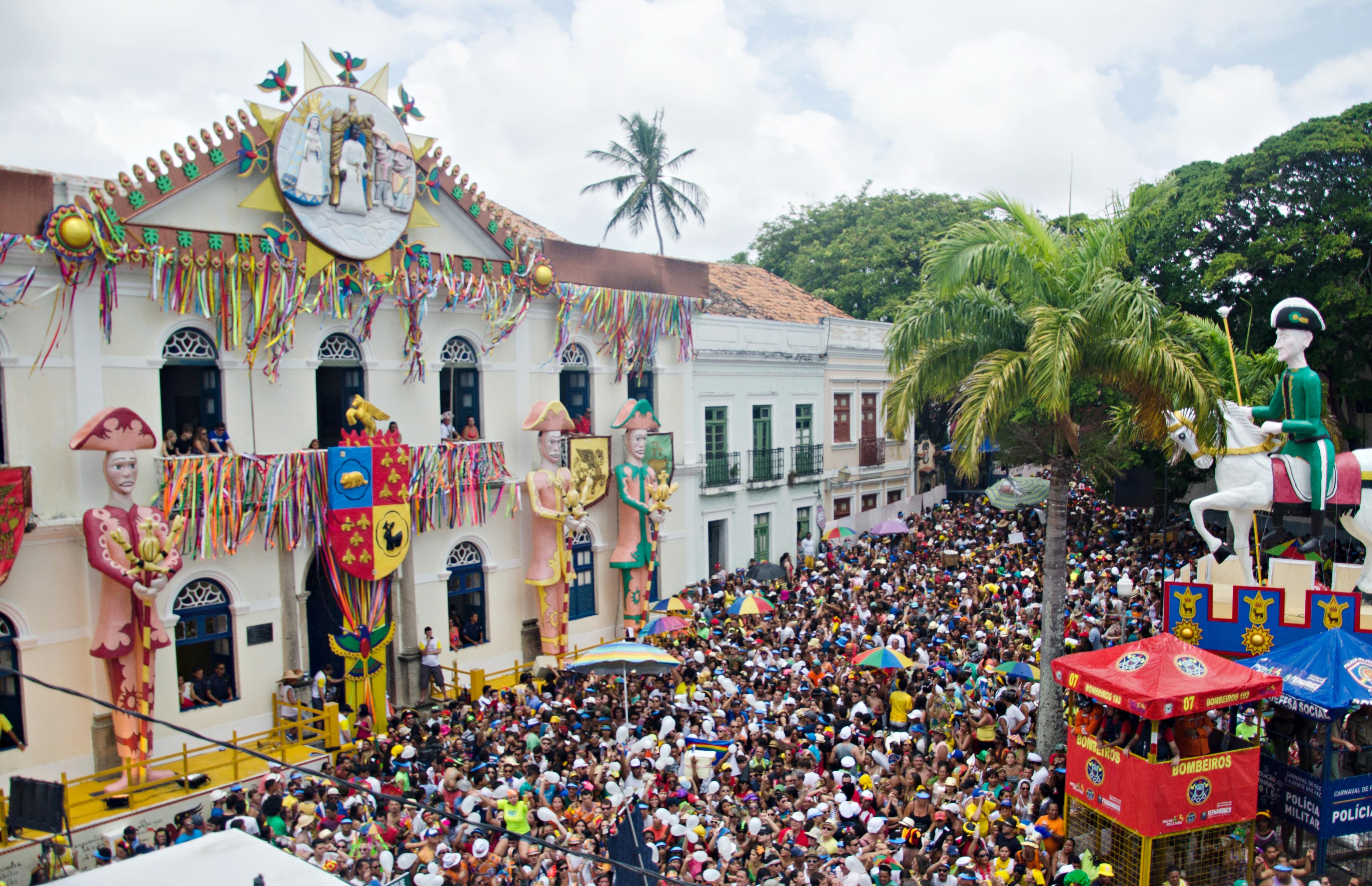 c50f4f7ef7 Decoração carnavalesca da Prefeitura de Olinda.