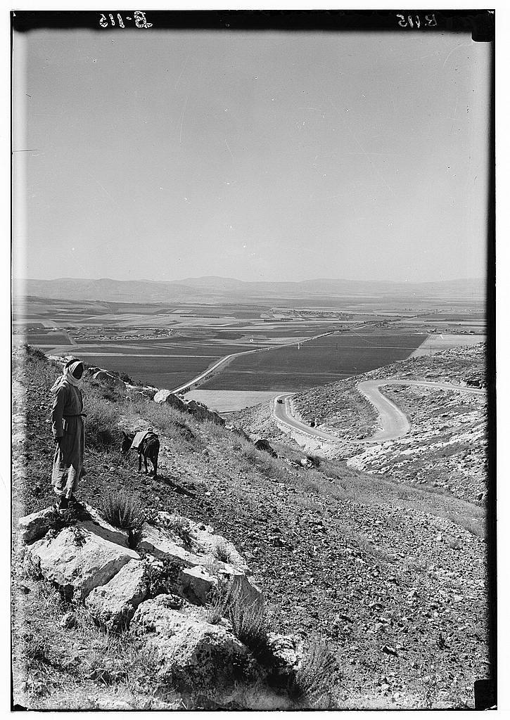 עמק יזרעאל, מצולם מכוון צפון