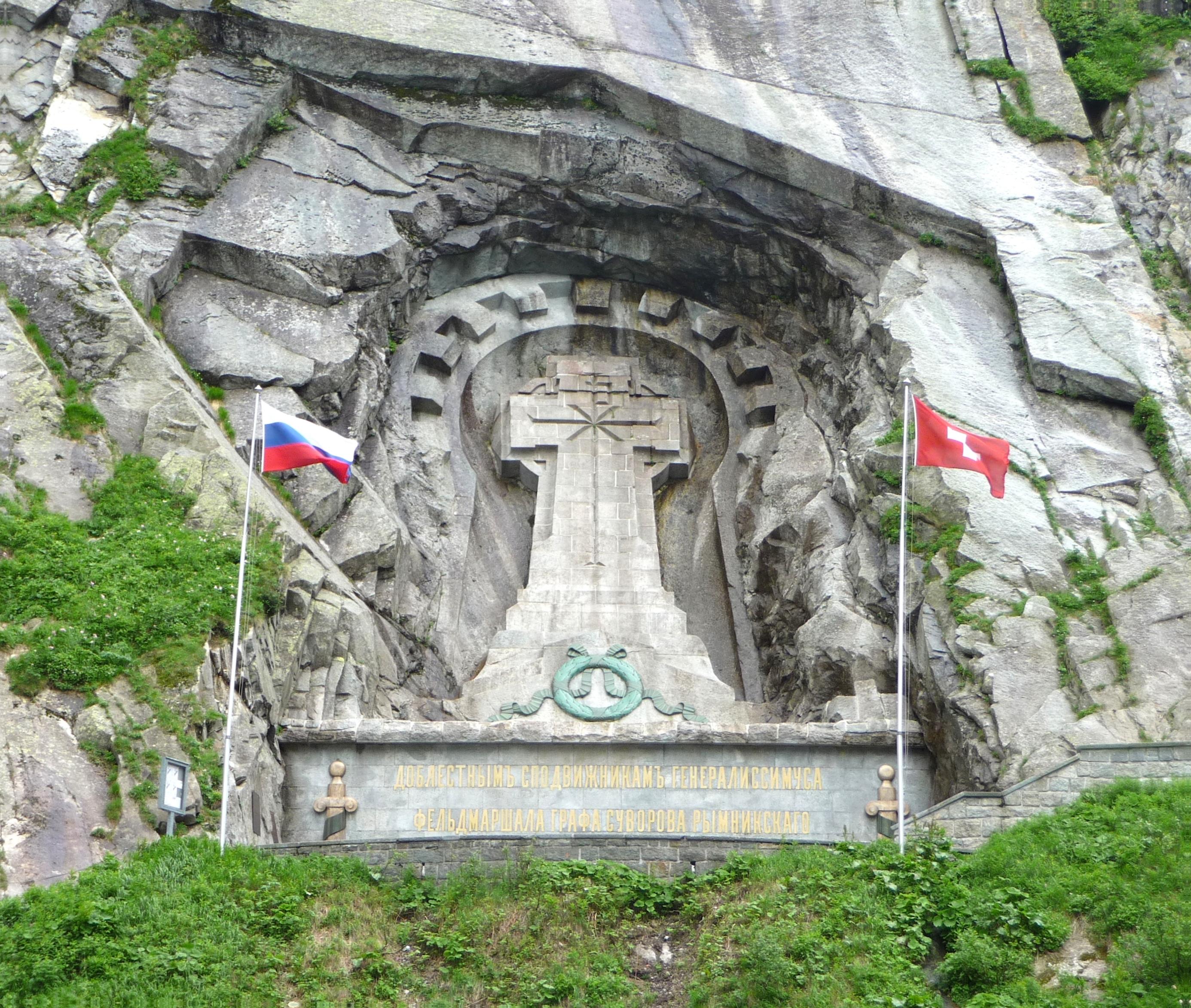 Bildergebnis für suvorov monument switzerland
