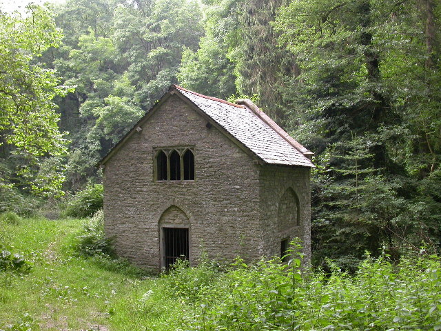 Pump House in Fishpool Valley - geograph.org.uk - 26432