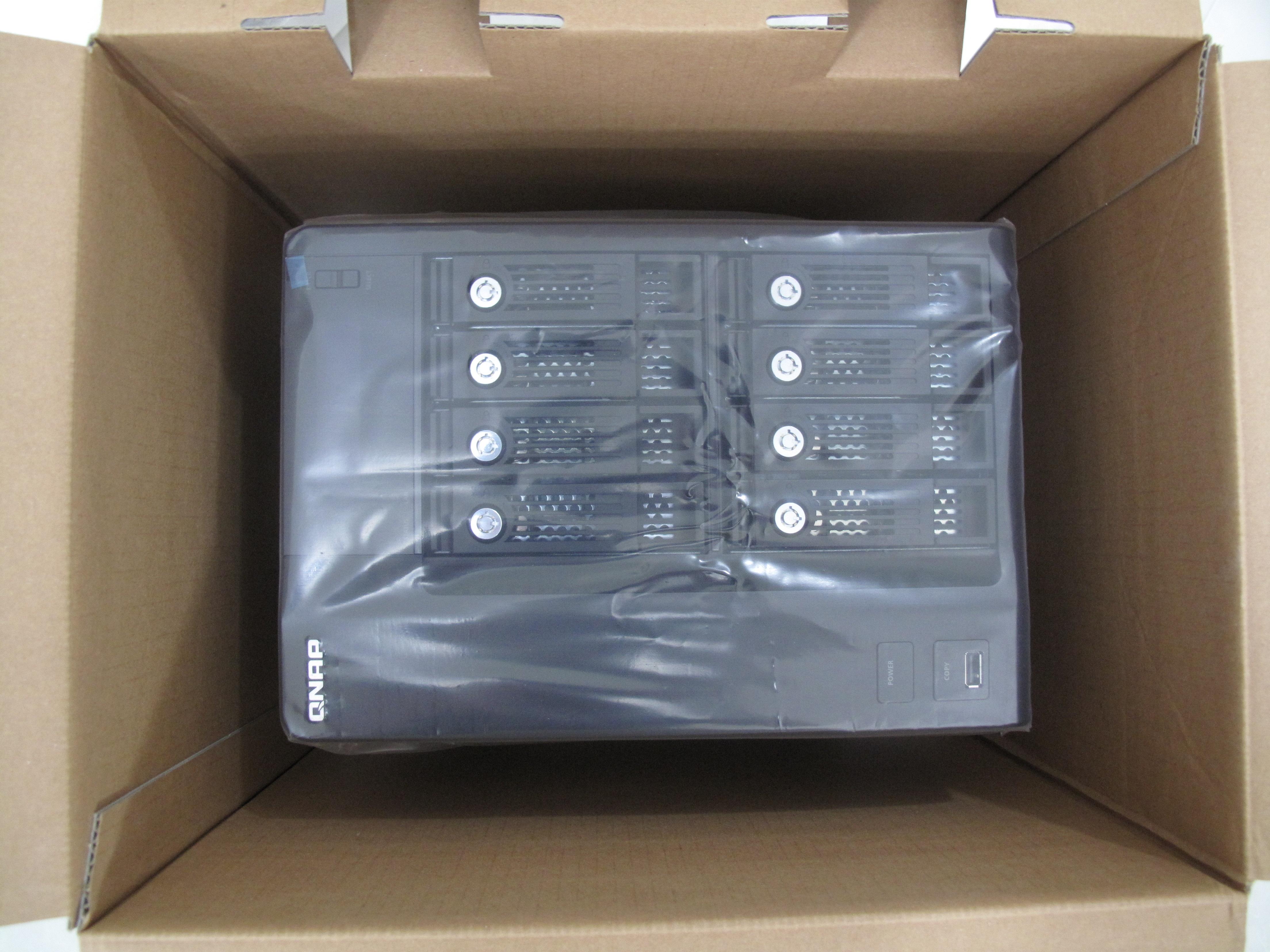 Plastic bag history - File Qnap Ts 809 Pro With Plastic Bag 20090517 Jpg