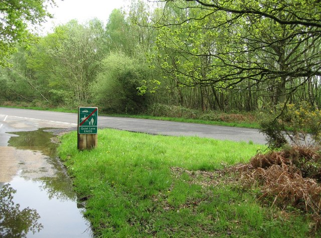 Quiet Lane Ends - geograph.org.uk - 791608
