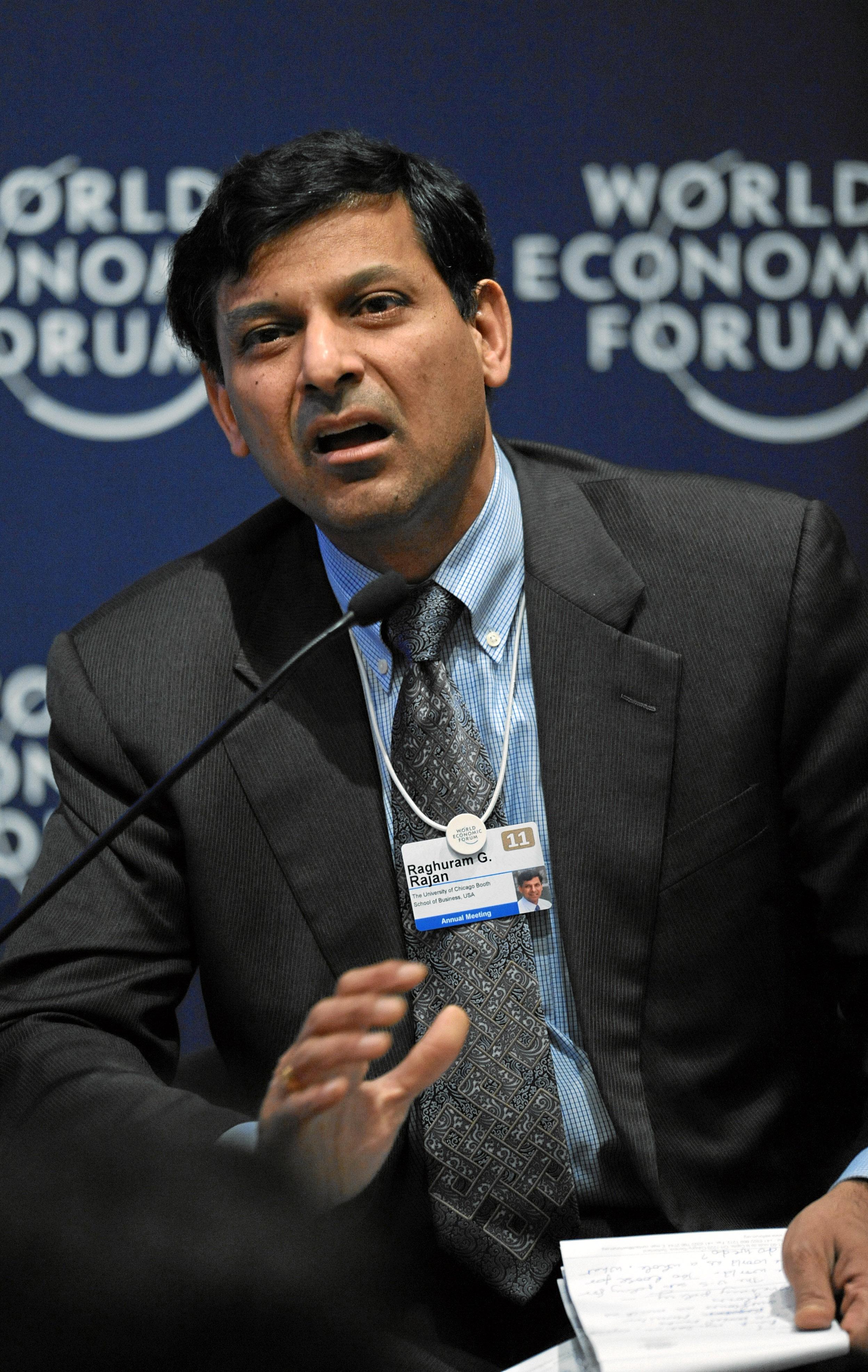 File Raghuram G Rajan World Economic Forum Annual