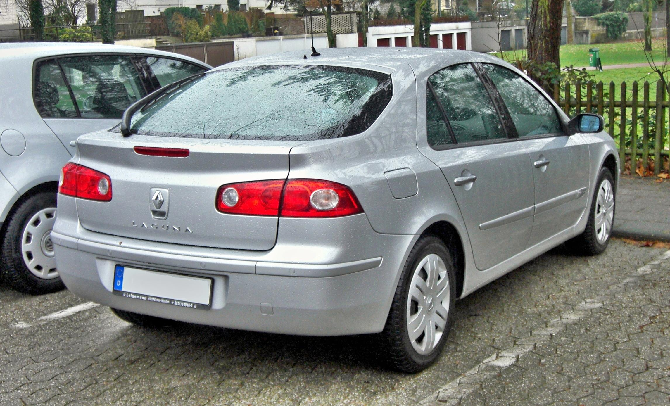 file renault laguna rear jpg wikimedia commons. Black Bedroom Furniture Sets. Home Design Ideas