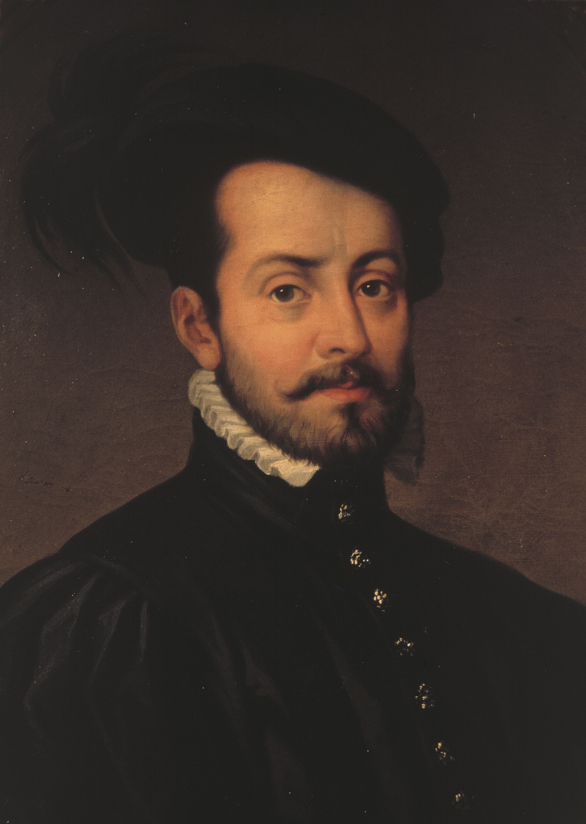 File:Retrato de Hernán Cortés (1485-1547), marqués del ...