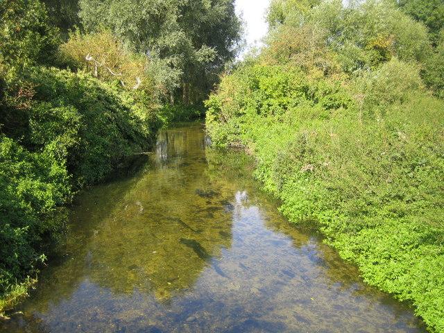 River Lee in Harpenden - geograph.org.uk - 558743