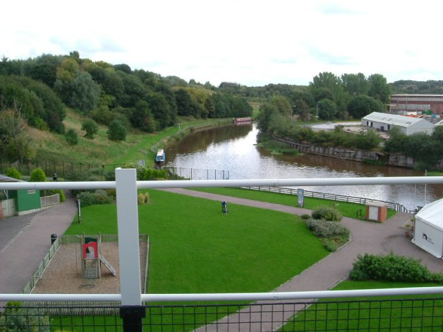 River Weaver from Anderton boat lift - geograph.org.uk - 967845
