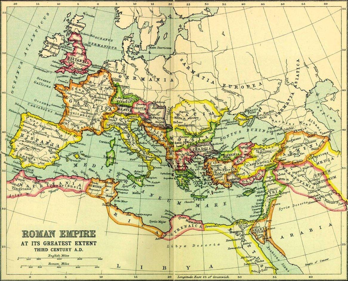 Fileroman Empire Full Mapjpg Wikimedia Commons