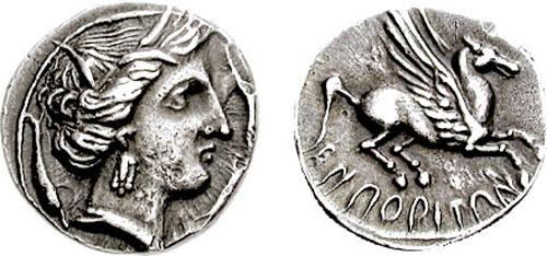 Moneda de Emporion.