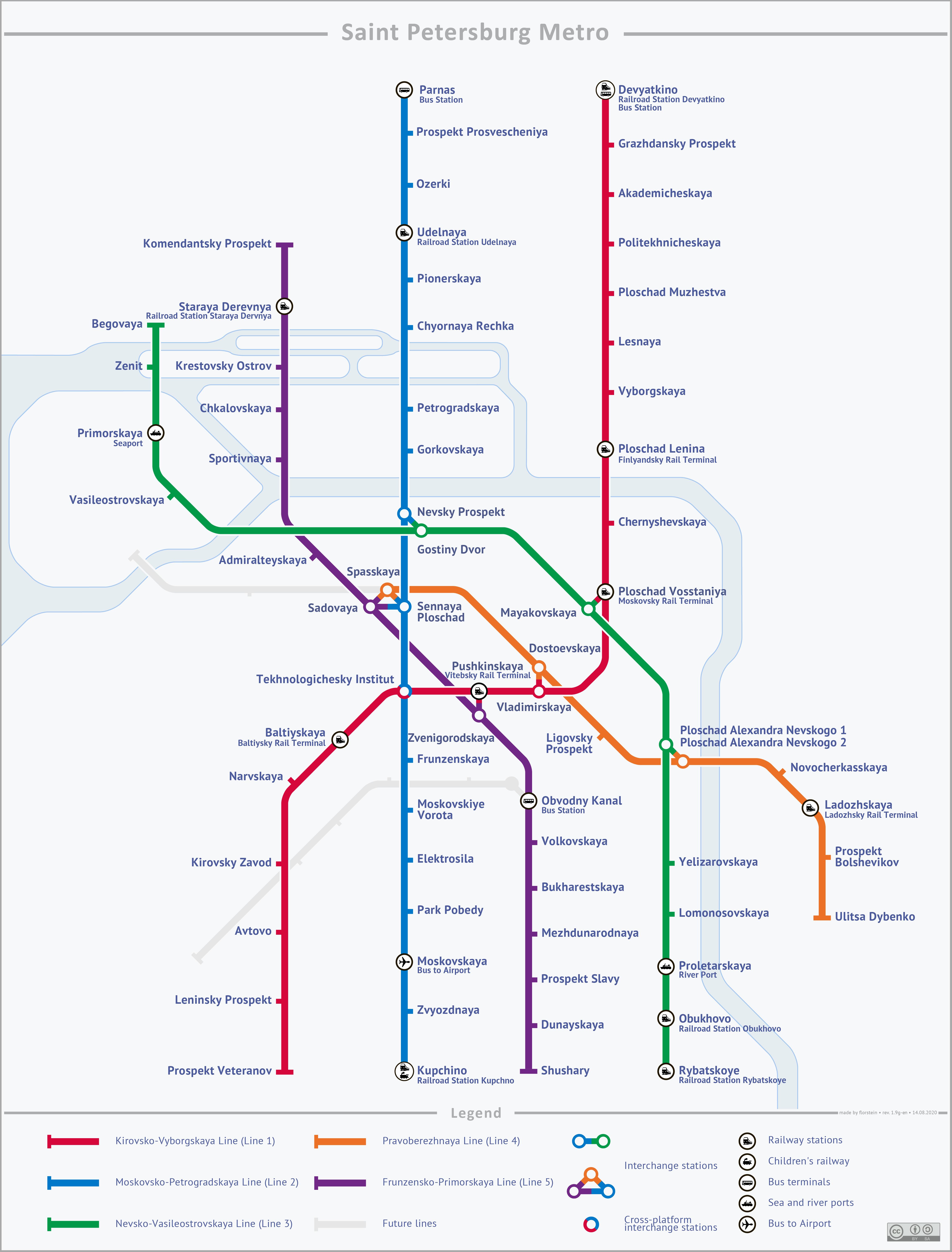 Saint Petersburg Russia Subway Map.List Of Saint Petersburg Metro Stations Wikipedia