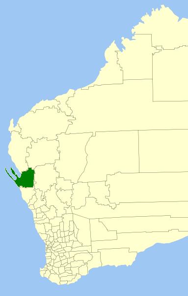 shark bay australia map Shire Of Shark Bay Wikipedia