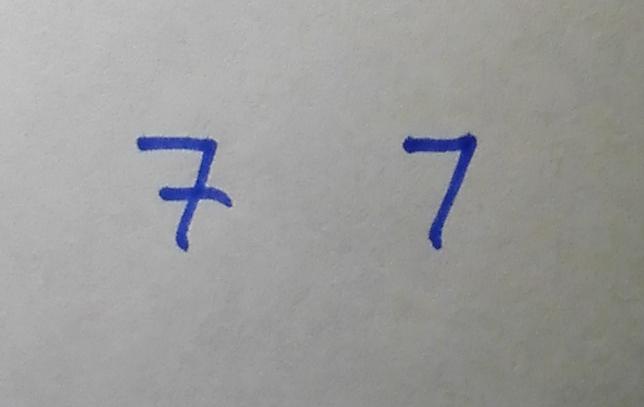 Zahl Sieben Bedeutung