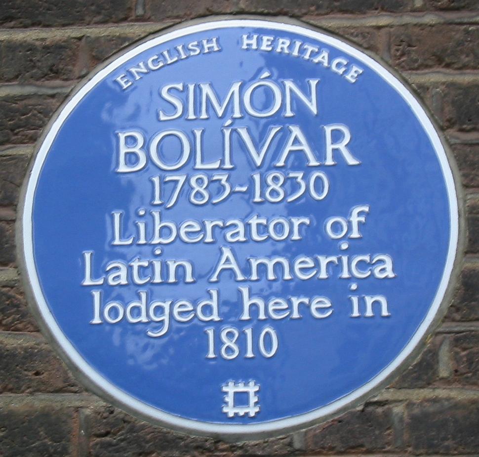 - Simon_Bolivar_plaque_London