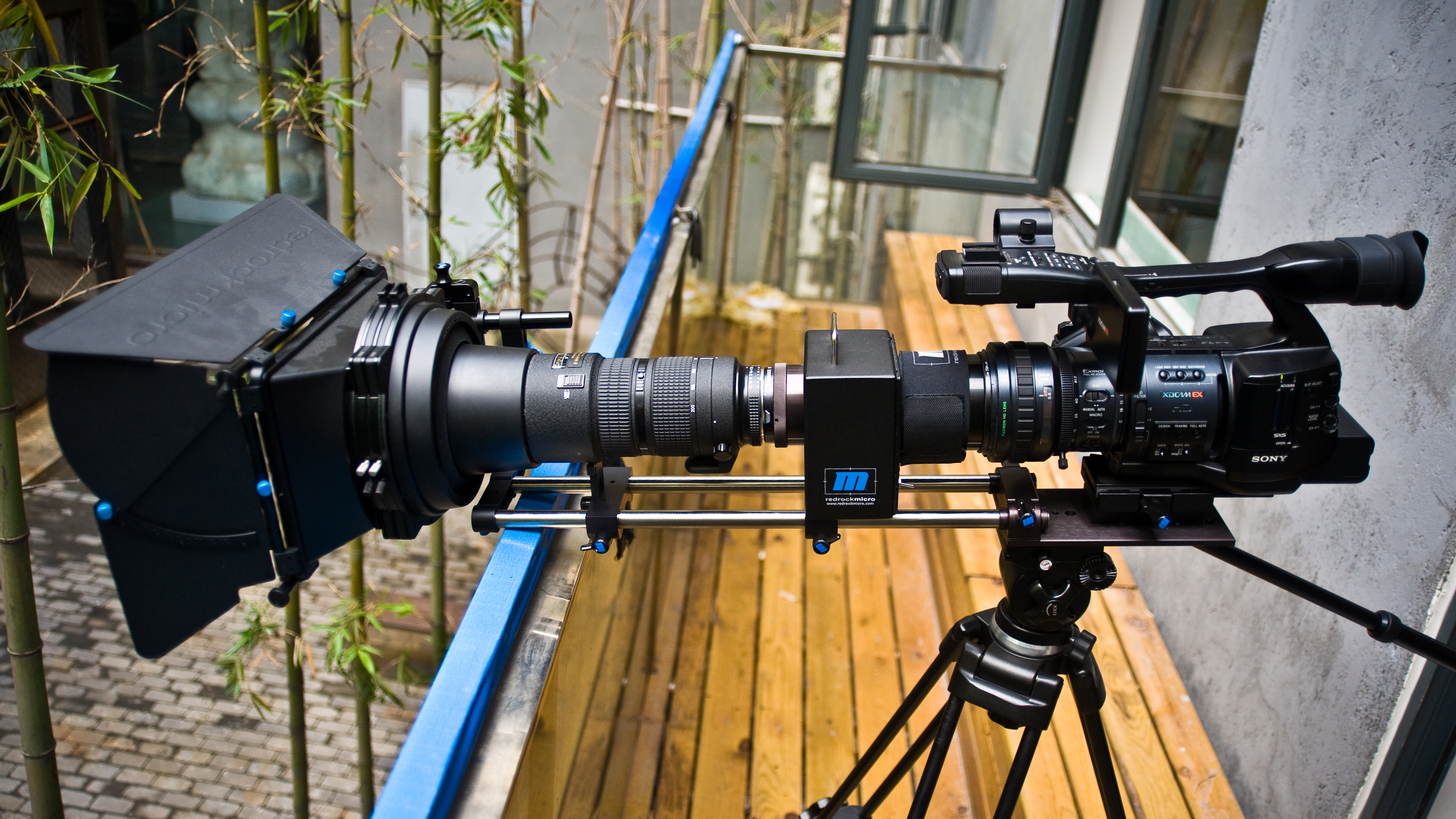File:Sony PMW-EX1 XDCAM EX Compact Camcorder CineAlta with Redrock