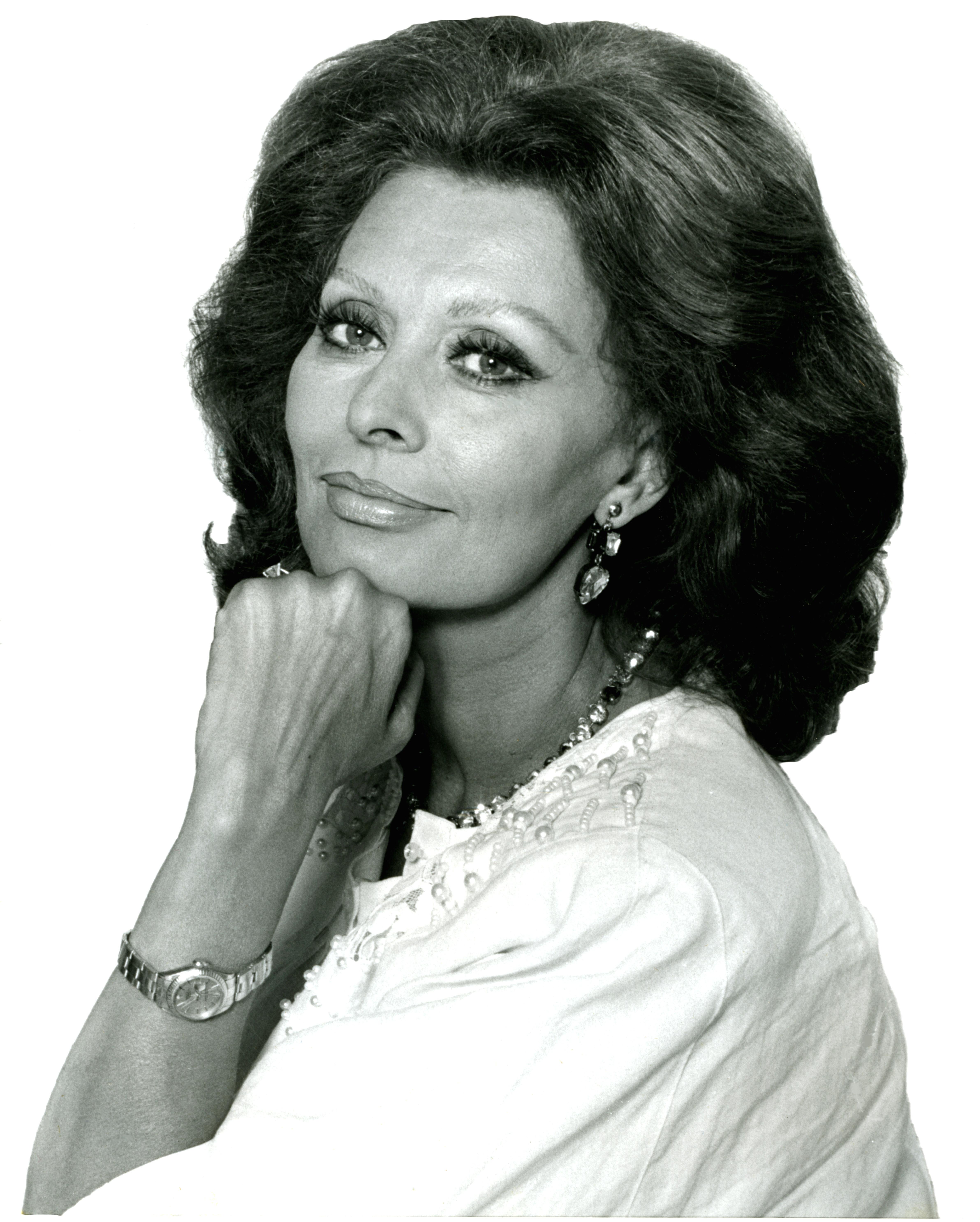 Sophia Loren, 1986