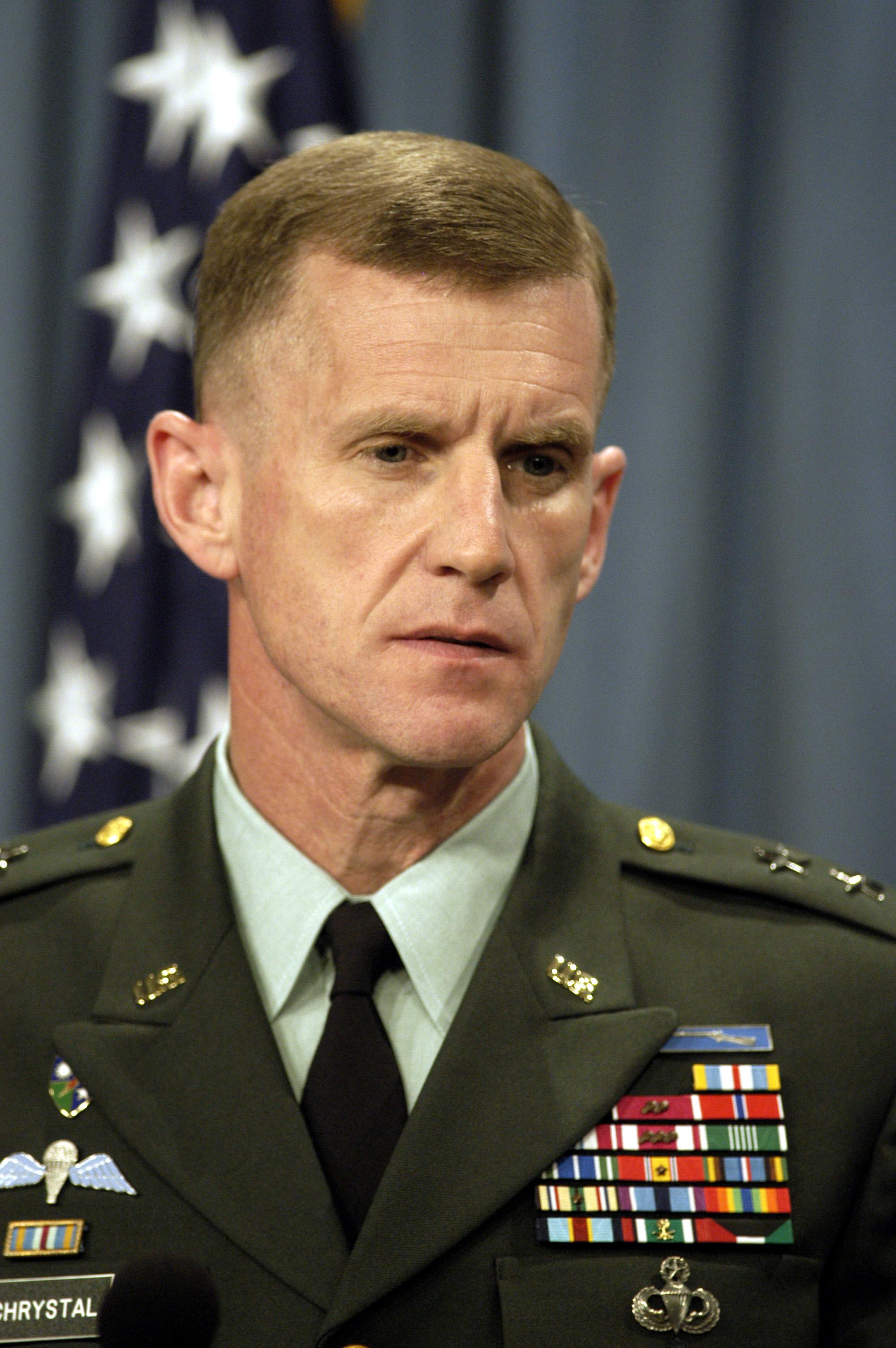 stanley mcchrystal net worth