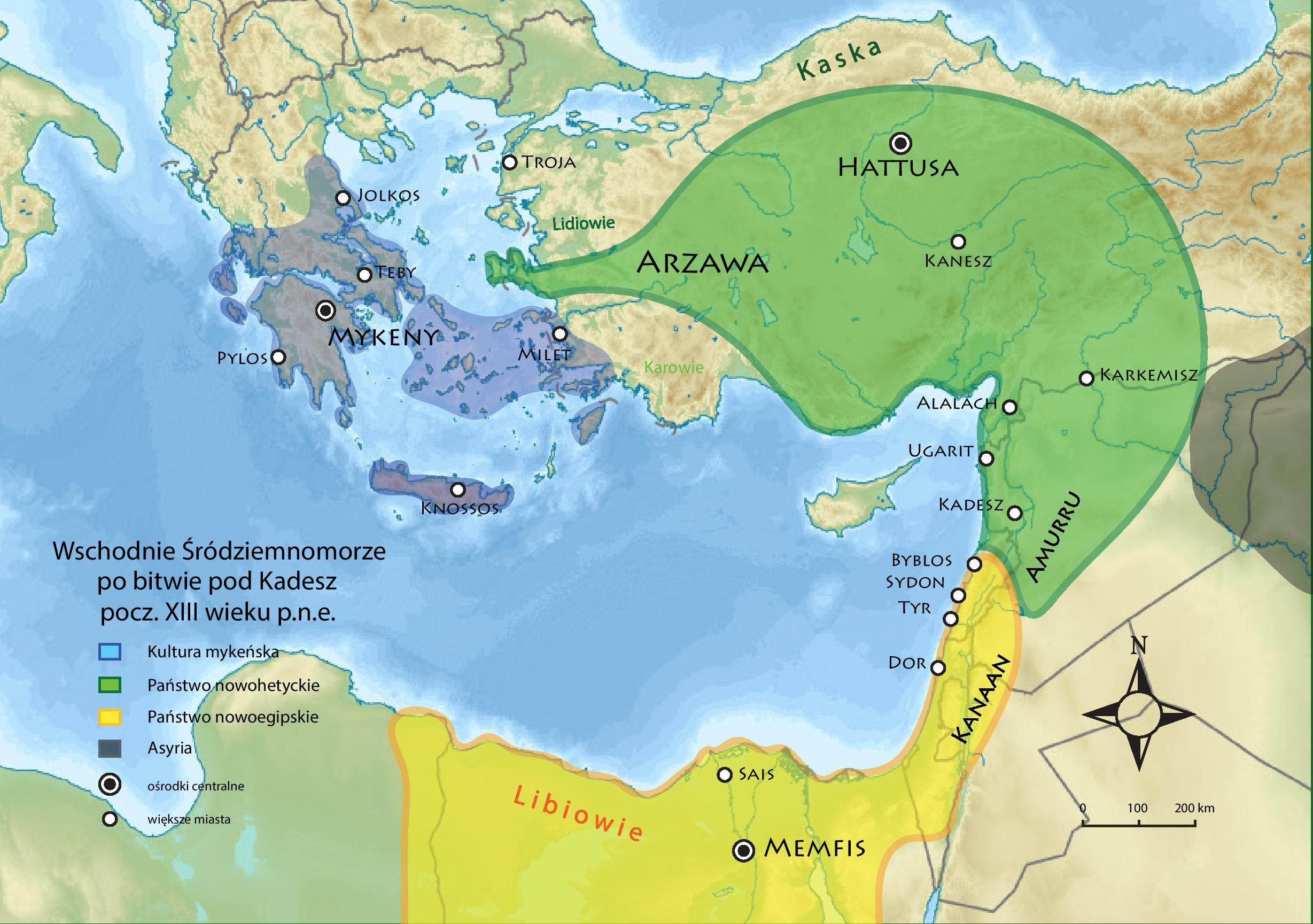 starożytny bliski wschód po bitwie pod kadesz xiii w. p.n.e..jpg