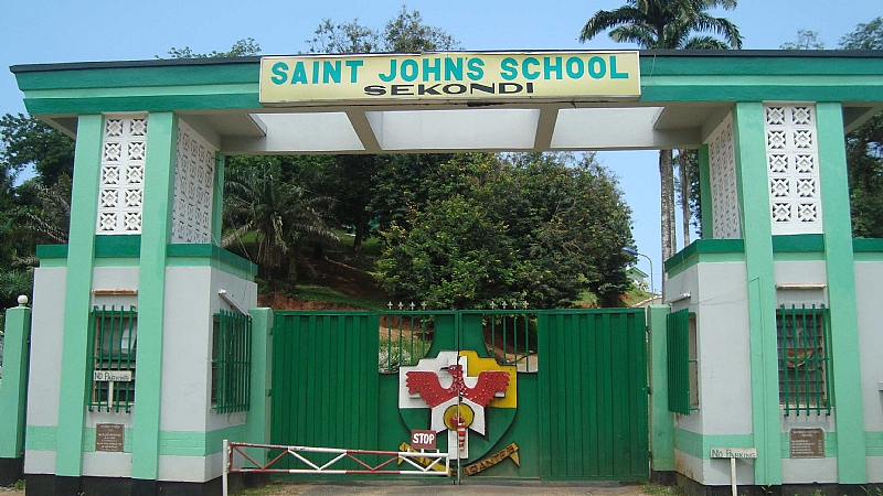 St. John's School, Sekondi - Wikipedia
