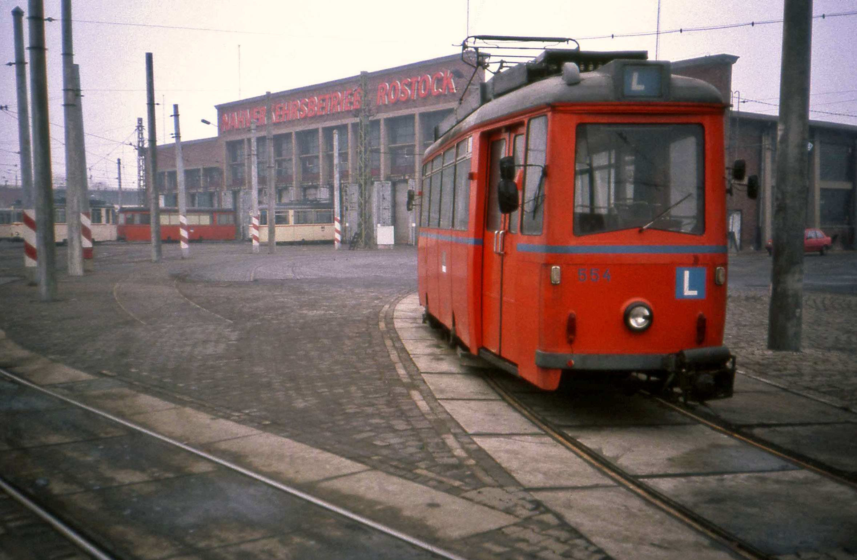 File Stra Enbahn Betriebshof Rostock Tram Depot Ddr Jan