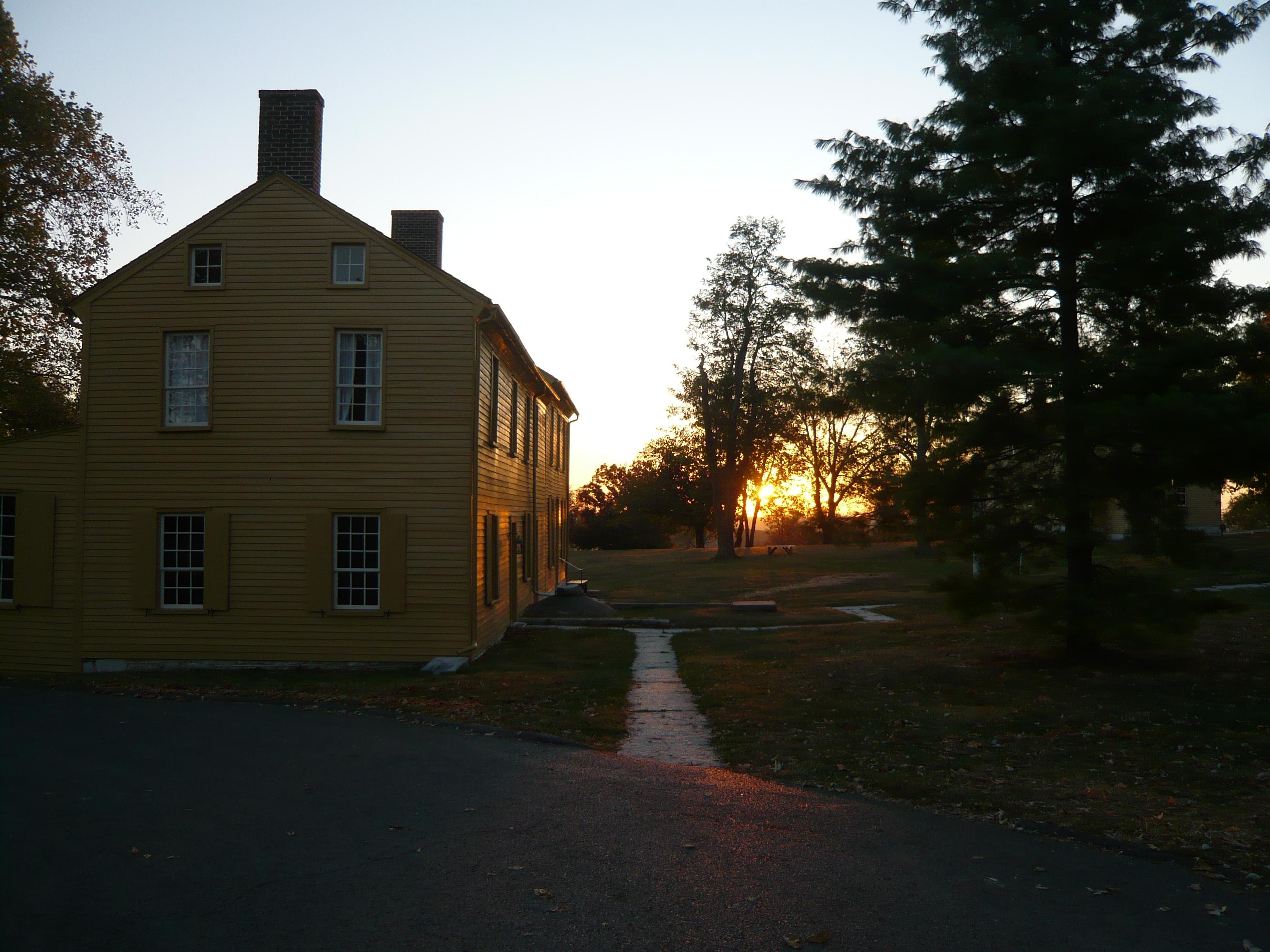 File Sunrise At Shaker Village At Pleasant Hill Kentucky