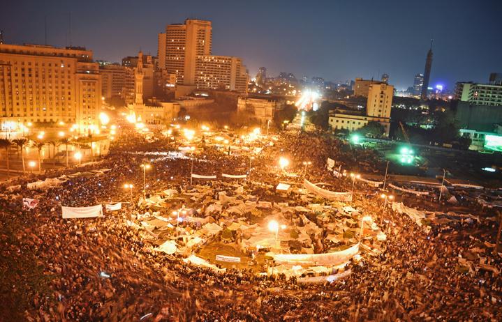 ميدان التحرير، وسط العاصمة