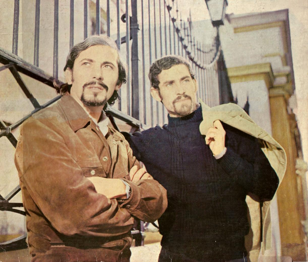 Pepe Guerra con Braulio López.