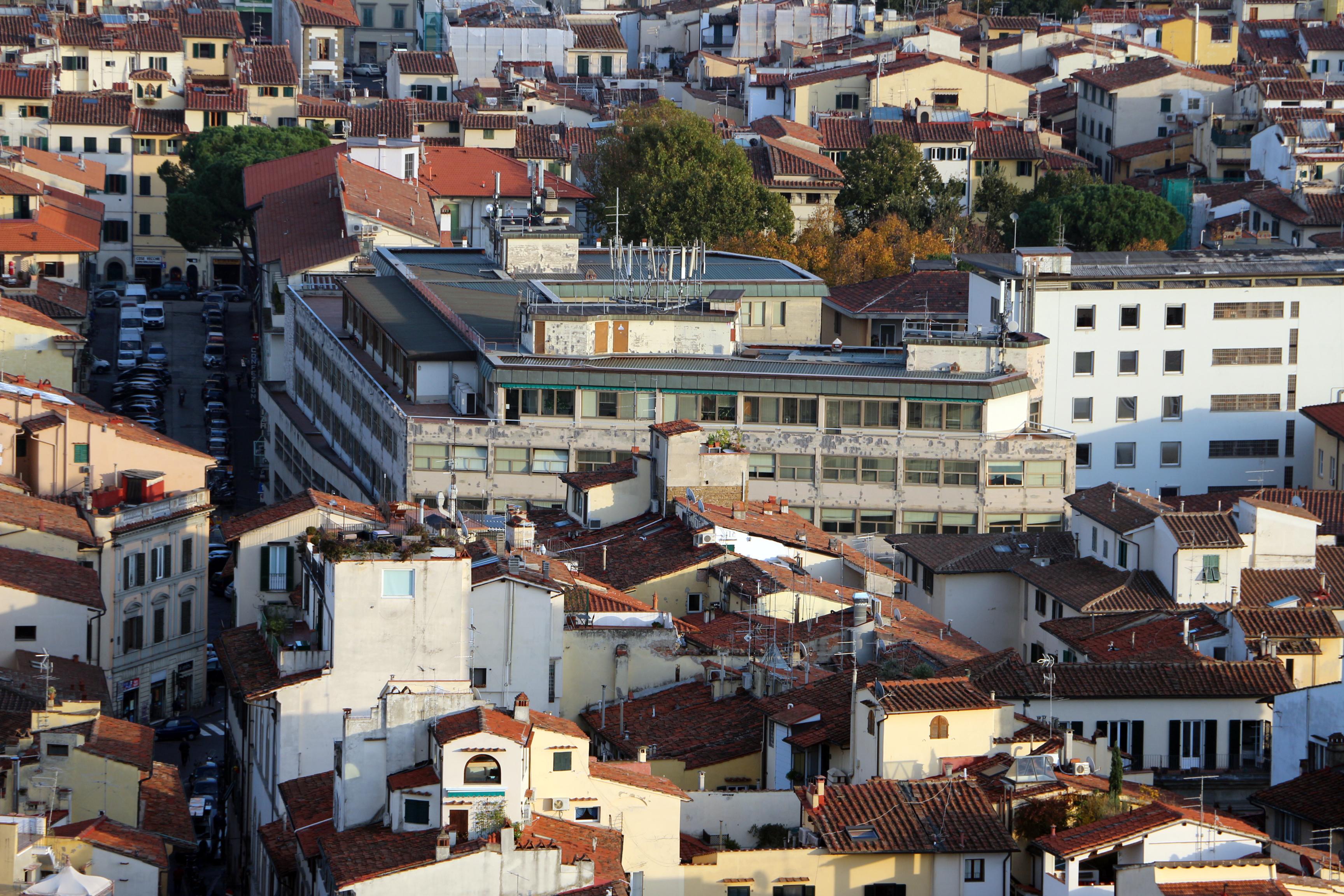 File:Terrazze del duomo, vedute su firenze, palazzo delle poste di ...