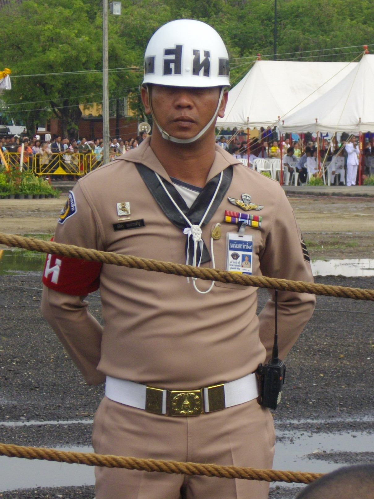 Description thai navy military police