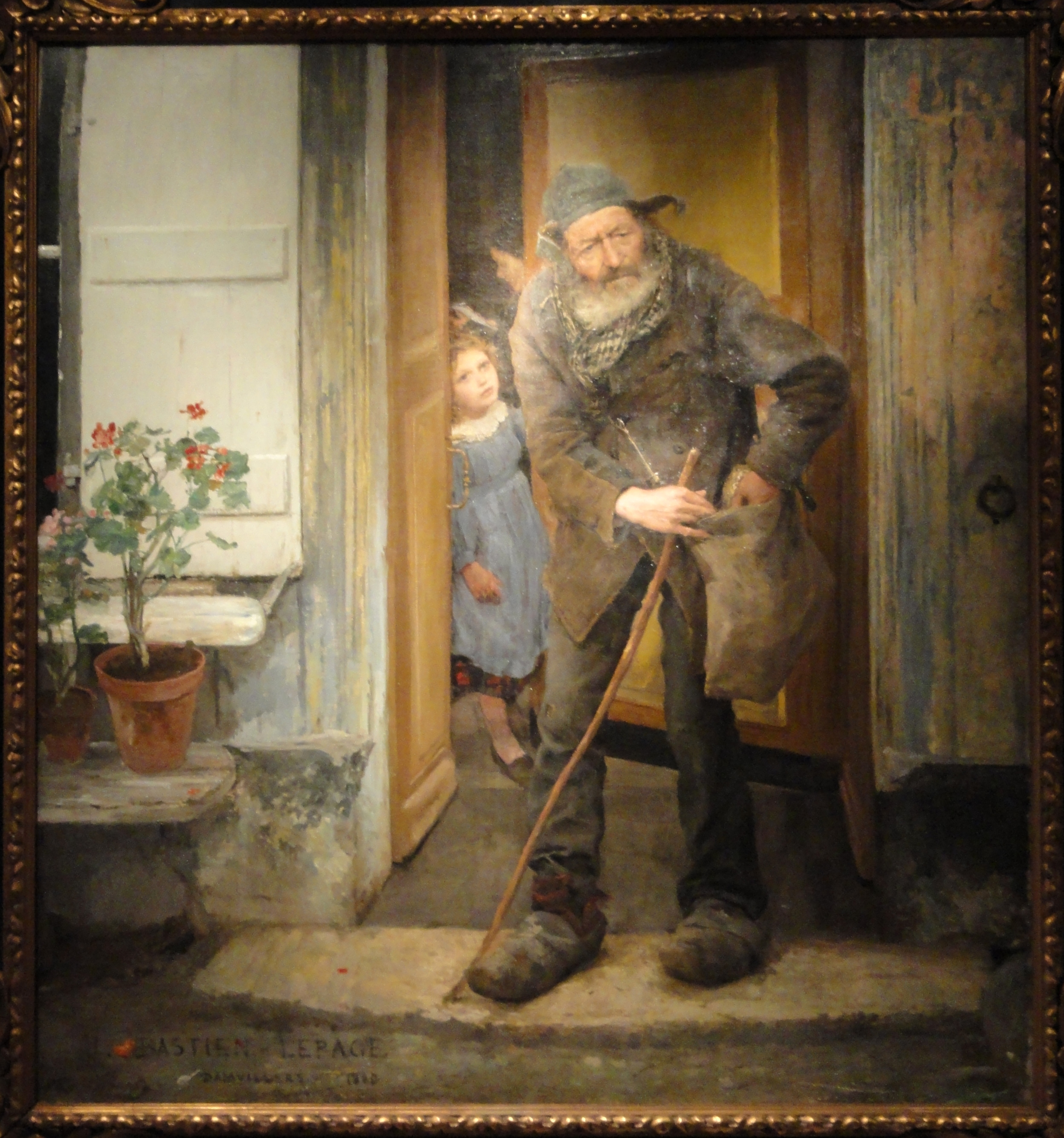 File The Beggar By Jules Bastien Lepage 1880 Ny