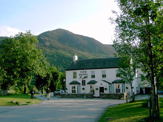 The Fish Hotel, Buttermere - geograph.org.uk - 879468