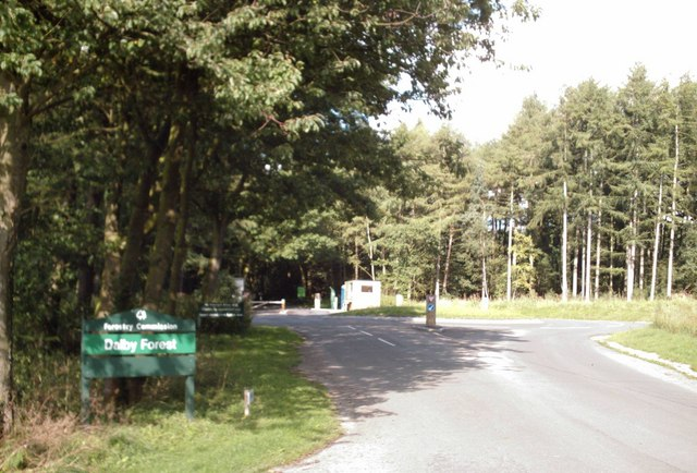 The tollgate at Dalby Forest Drive - geograph.org.uk - 223220