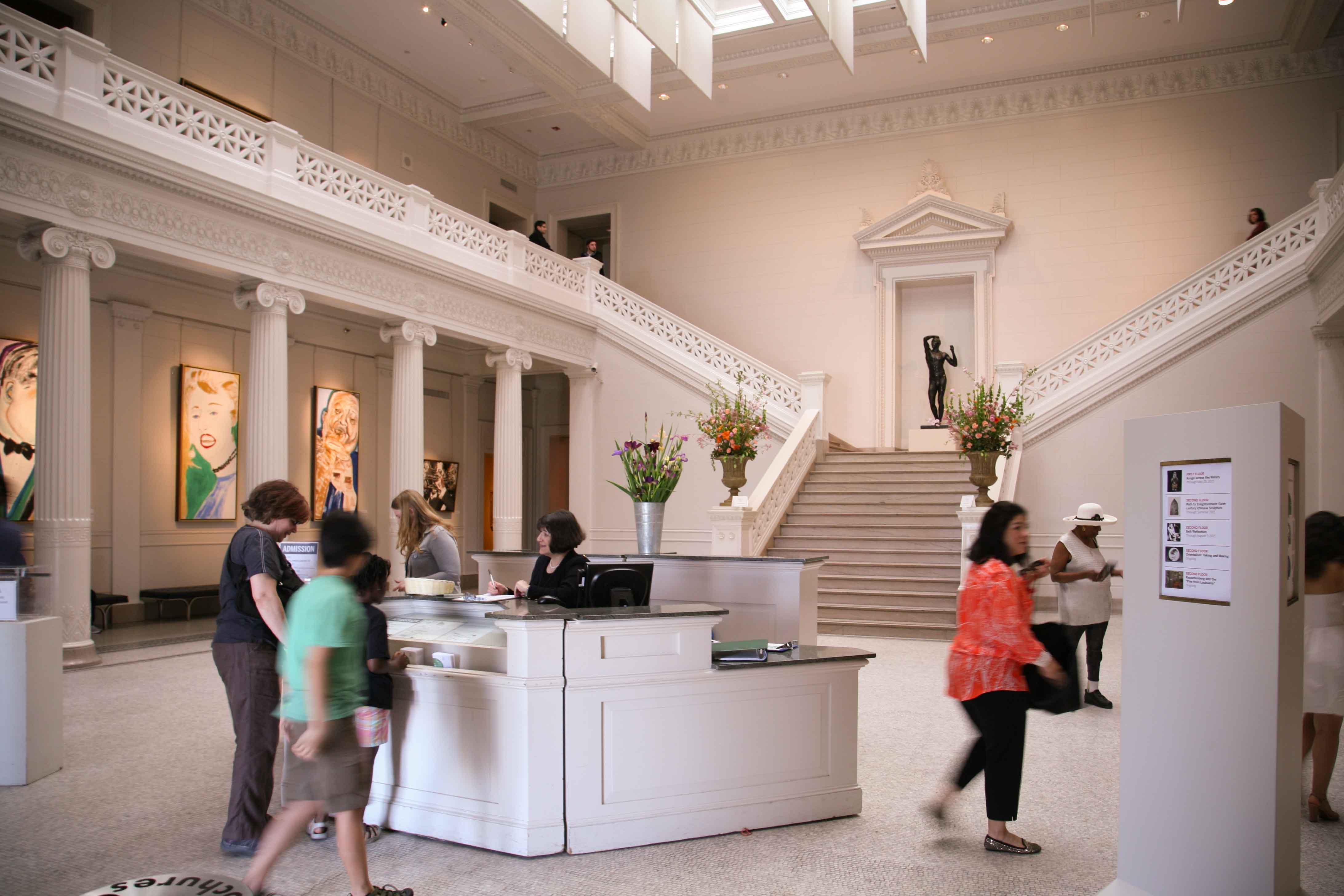 File Ticket Membership Desk New Orleans Museum Of Art Noma 2017 Trip April
