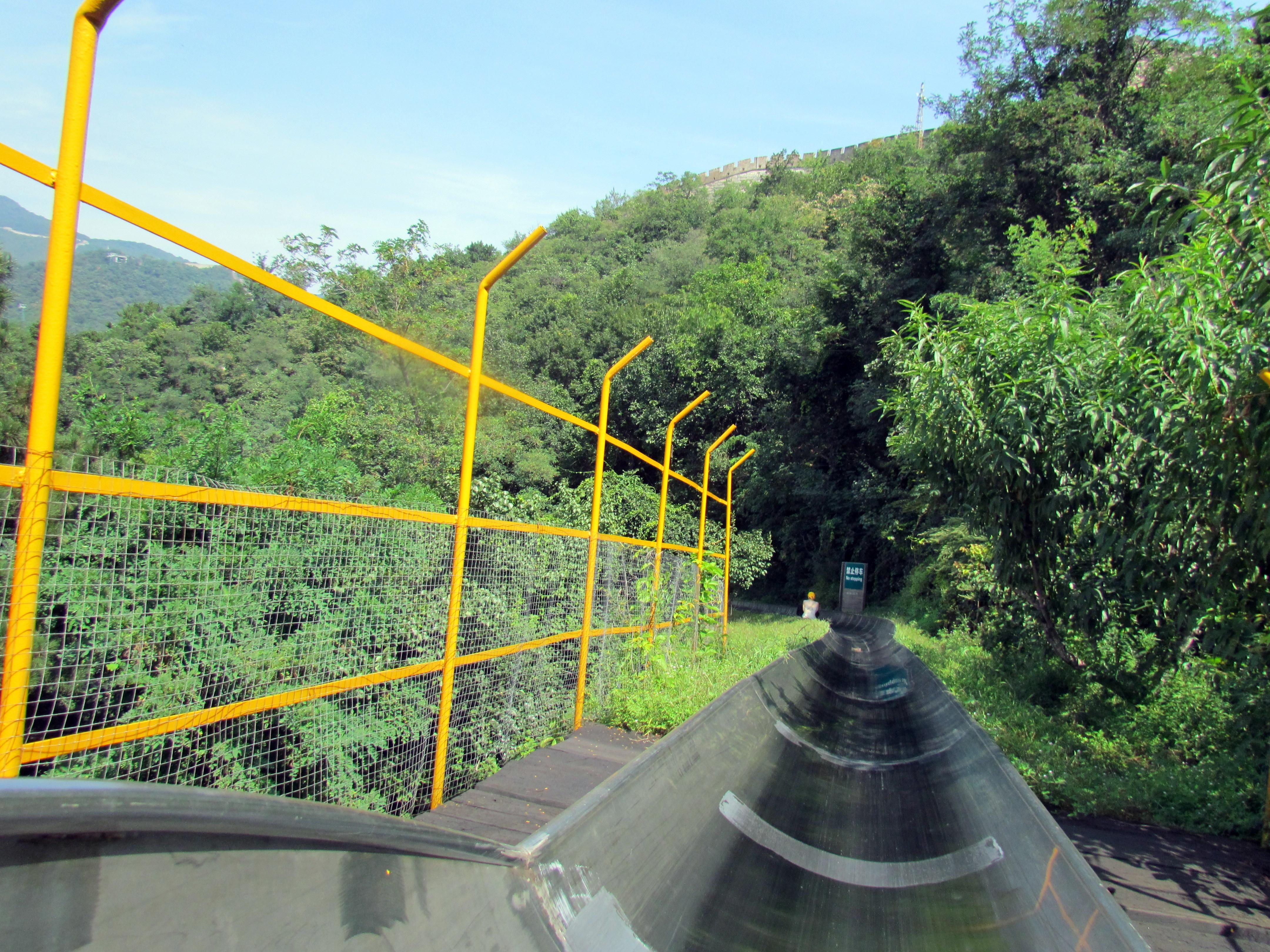 File Toboggan Ride At Mutianyu Section Of Great Wall Of