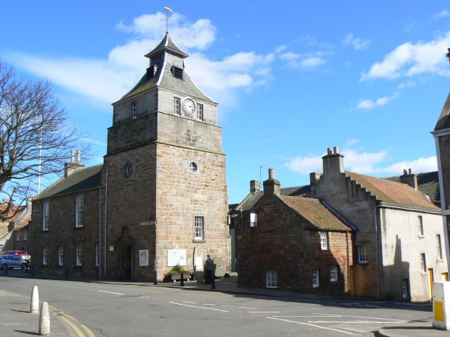 tollbooth and town hall - geograph.org.uk - 750656.jpg